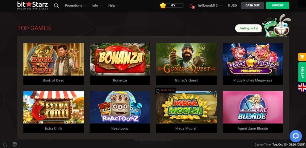 Официальный сайт Bitstarz casino