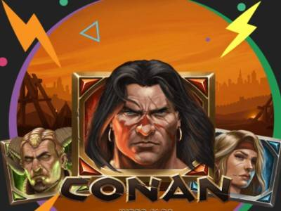 «Сила Конана» - сразись за призовой фонд в €10,000 в новой игре от NetEnt в казино Booi