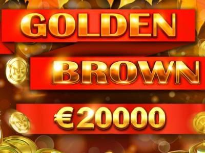 «Golden Brown» - очередная порция призов от Booongo и казино Drift