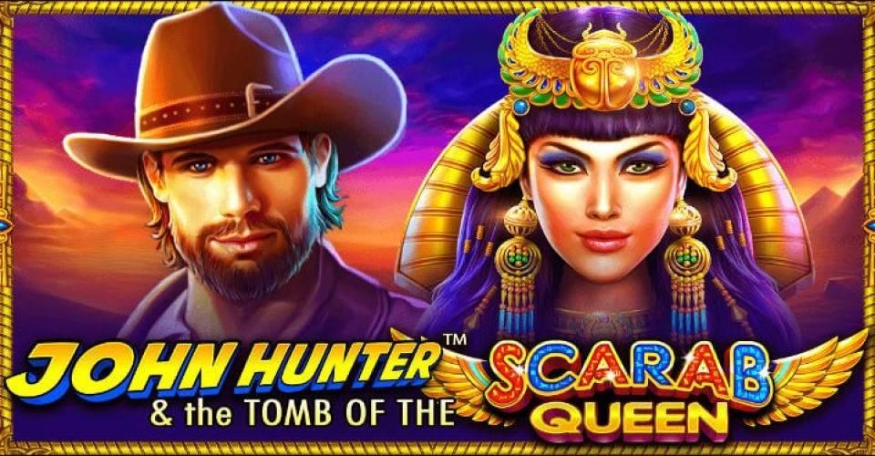 Игровой автомат John Hunter and the Tomb of the Scarab Queen