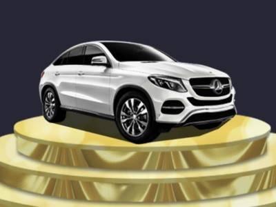 Забери свой Mercedes в беспроигрышной лотерее казино Pin-Up