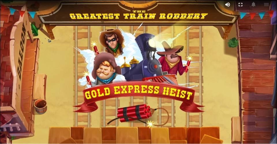 Игровой автомат The Greatest Train Robbery