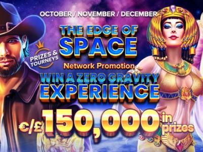 «На краю космоса» в казино Argo – прими участие в розыгрыше €150,000 и полета в невесомости!