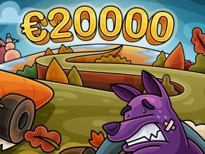 Турнир «Урожайный» - эксклюзив в Casino-X с гарантией €20,000!