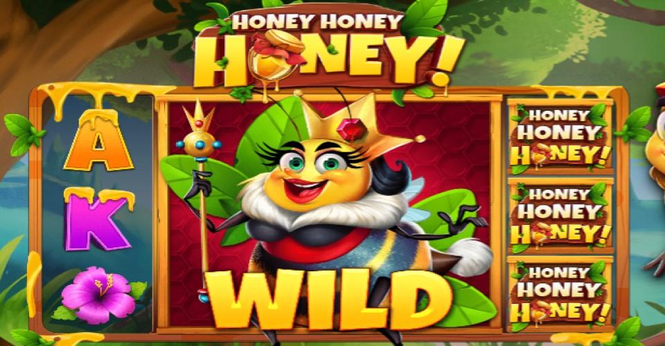 Игровой автомат Honey Honey Honey