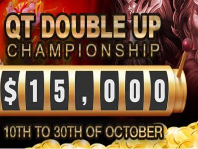 QT Double Up Championship – бери участие в ежедневных турнирах казино Ivi