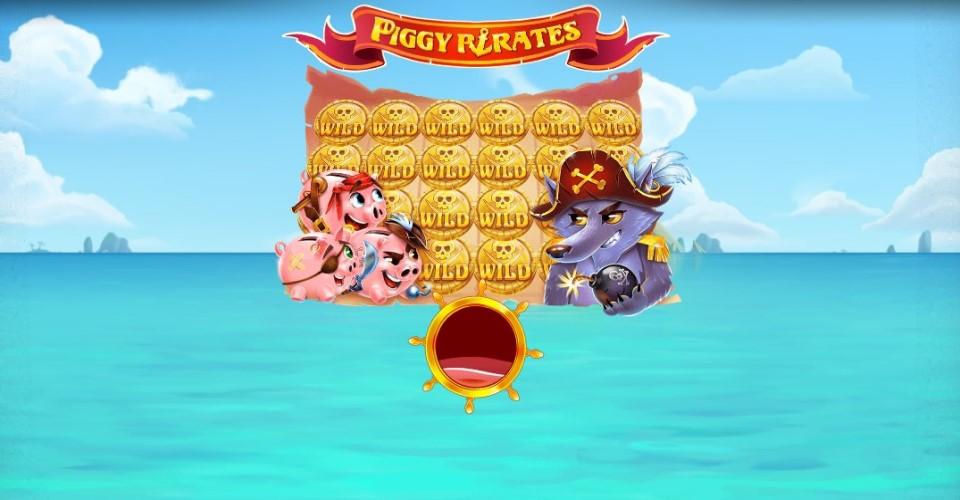 Игровой автомат Piggy Pirates