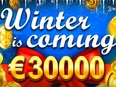 Winter is Coming – не пропусти очередной турнир от казино Drift и Booongo на €30,000!