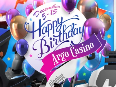 Турнир «Birthday Tournament» Арго казино