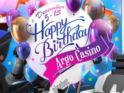 Турнир «Birthday Tournament» Арго казино