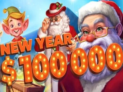 Новогодняя раздача подарков в казино Riobet на сумму $100,000!