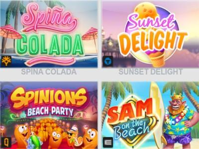 Beach Party Week в казино ZigZag777