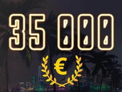 Гонка за призами в казино Play Fortuna – забери часть от своих €35,000!