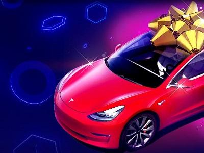 Забирай Tesla Model 3 в онлайн казино BitStarz!