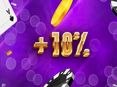 10% бонус в казино Goxbet!