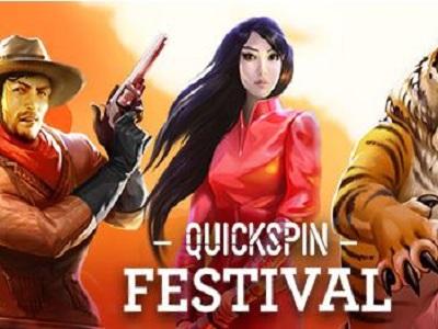 €50,000 разыграется на фестивале Quickspin в онлайн казино Rox!