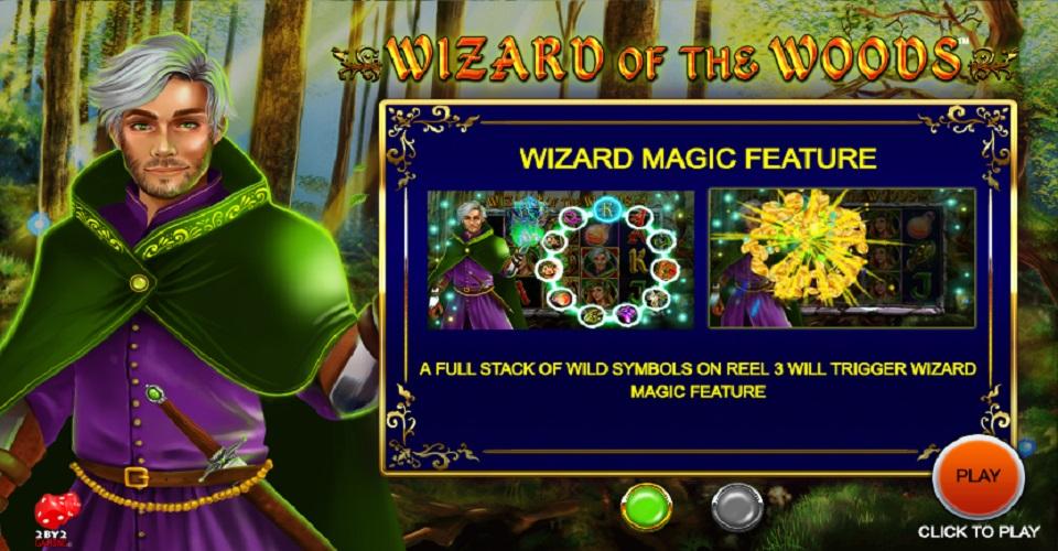 Игровой автомат Wizard of the Woods