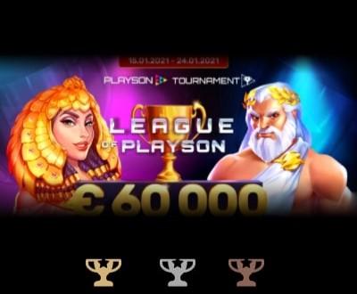 Участвуй в акции «LEAGUE OF PLAYSON» от Риобет и получи шанс выиграть до €60,000