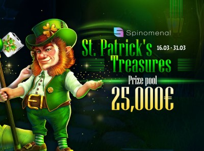 Обзор акции «St. Patrick's Treasure» в клубе Риобет