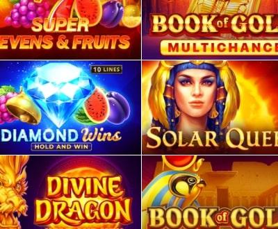 Казино Икс приглашает играть в слоты от Playson и выигрывать до €10 000 реальными деньгами