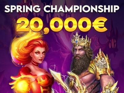 First casino открывает акцию на слотах с джекпотом €20,000