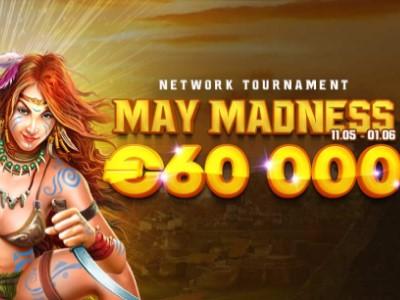 Обзор чемпионата «May Madness» от провайдера Spinomenal в Риобет казино